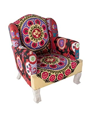 Suzani Arm Chair, Multi