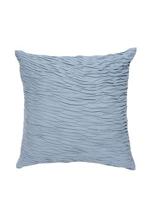 Darzzi Textured Surface Pillow (Blue Grey)