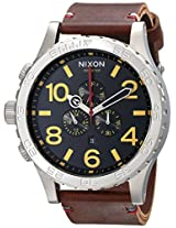 Nixon Men's A124019 51-30 Chrono Leather Watch