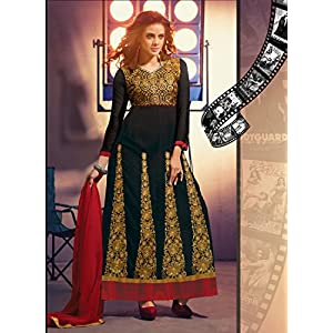 New Arrival Black Collection Anarkali Suit