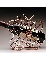 1PC Fashion Wine Rack Bar Wine Glass Rack Generous Creative Wine Holder Europen Style Bottiglia Di Vino Titolare (Yellow)