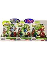 Marvel Hulk Adventures Playskool Heroes Hulk & Captain America, Hulk & Wolverine And Hulk & Iron Man Gift Set Bundle 3 Pack (6 Figures Total)