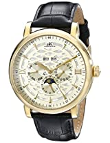 Adee Kaye Men's AK2242-MG/CH Successo Analog Display Automatic Self Wind Black Watch