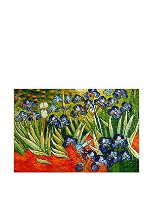 Arte Dal Mondo Pintura al Óleo sobre Linezo Van Gogh Iris