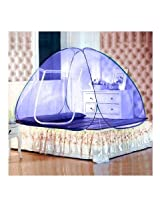 HealthViva Mosquito Net, Double Bed Blue