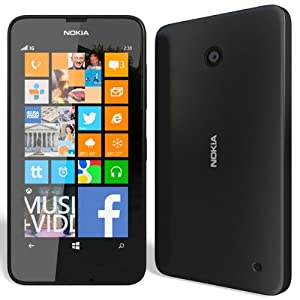 Nokia Lumia 630 (Single SIM, Orange)