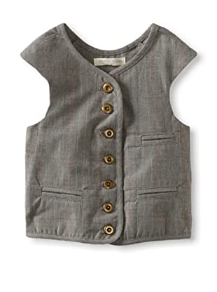 Blu Pony Vintage Boy's Classic Vest (Jason's Favorite (Grey Plaid))