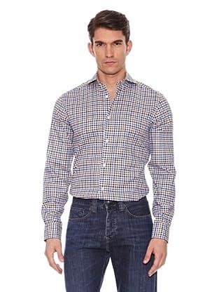 Hackett Camisa Cuadros (Verde / Azul / Marrón)