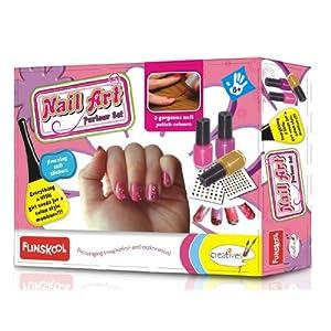 Funskool Nail Art Kit - Multicolour