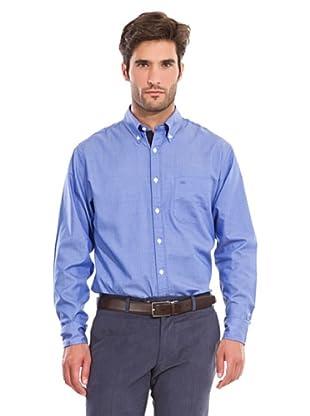 Pedro del Hierro Camisa Fantasía (Azul)