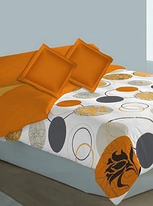 Art Experience Funda Nórdica 3 Piezas Venecia (Naranja)