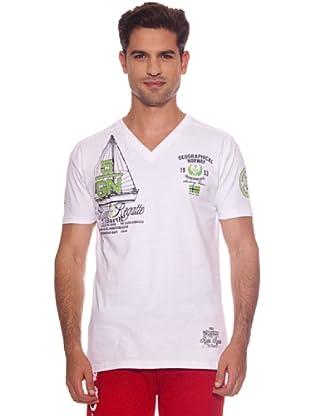 Geographical Norway Camiseta Jutty (Blanco)