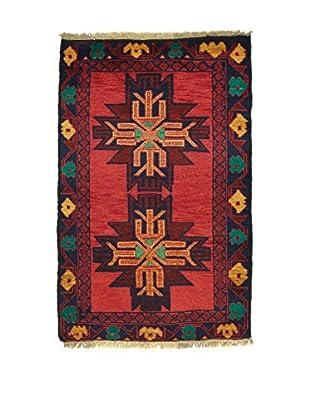 Eden Teppich Beluchistan rot/mehrfarbig 80 x 133 cm