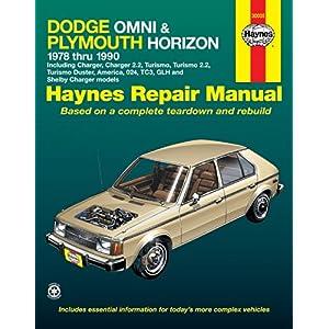 【クリックで詳細表示】Dodge Omni & Plymouth Horizon Automotive Repair Manual: 1978 Through 1990 (Hayne's Automotive Repair Manual) [ペーパーバック]
