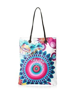 Desigual Handbags Bols Shopping 5 31X5181 Tote (Piscina Vacia)