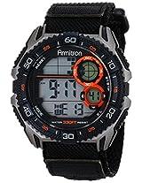 Armitron Sport Men's 40/8329BLK Black Watch with Nylon Strap