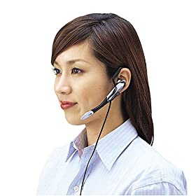 ELECOM イヤフォン付きマイクロフォン MS-HS59SC
