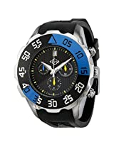 Gv2 By Gevril Parachute Chronograph Rubber Date Men'S Watch - Ger3001R