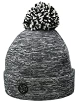 Armani Jeans Women's Reversible Knit Beanie with Pom