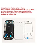 Replacement HIGH QUALITY FULL BODY HOUSING PANEL FACEPLATE FASCIA of SAMSUNG GALAXY S3 I9300 White