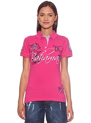 Geographical Norway Polo Karaibes (Fucsia)