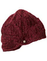 Coal Women's Madison Hat, Burgundy, One Size