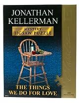Author Classic Mystery Jigsaw Puzzle - Jonathan Kellerman