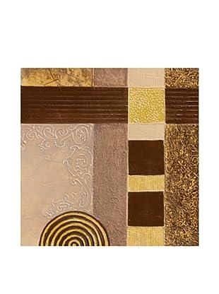 PlatinArt Cuadro Golden Pattern 40 x 40