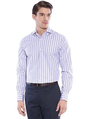 Hackett Camicia Righe (Porpora/Blu)