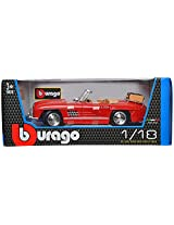 Bburago 1957 Mercedes-Benz 300 SL Touring Scale-1:18 Die Cast Toy Car (Red)