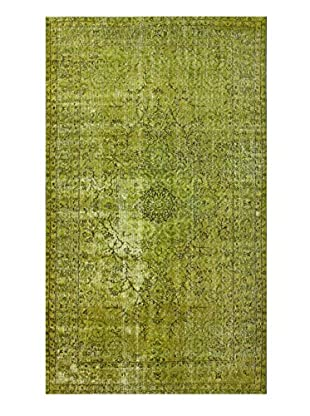 nuLOOM One-of-a-Kind Hand-Knotted Vintage Turkish Overdyed Rug, Mustard, 5' 3