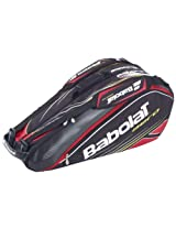 Babolat 751041-144 X 6 Aero Line Racquet Holder (Black/Red)