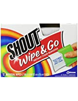 Shout Wipes, 12-Wipes (Pack of 12)