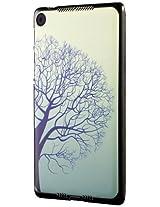 Nexus 7 FHD (2013) Case, Cruzerlite Print Case (PC Case) Compatible for New Nexus 7 FHD (2013) - Blue Tree
