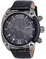 Diesel Overflow Analog Black Dial Men's Watch - DZ4372