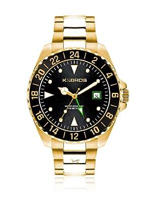 K&BROS Reloj 9477 (Dorado)