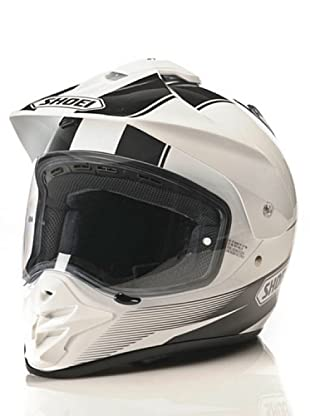 Shoei Casco Hornet-Ds Gráficos (Blanco)