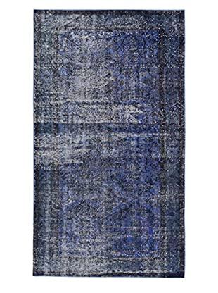eCarpet Gallery One-of-a-Kind Hand-Knotted Color Transition Rug, Violet, 4' 10
