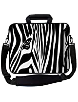Designer Sleeves 17-Inch Zebra Eye Executive Laptop Bag (17ES-ZE)