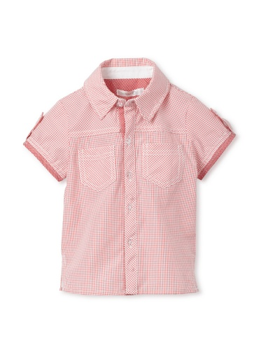 TroiZenfantS Baby Plaid Shirt (Red)