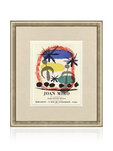 Joan Miro Constellations Beggruen, 1959, 15