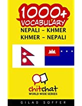 1000+ Nepali - Khmer, Khmer - Nepali Vocabulary