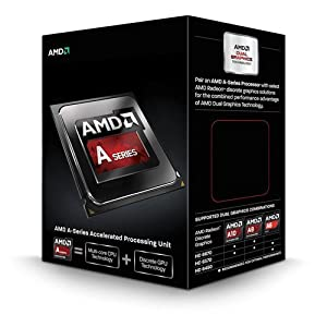 AMD 4.1 GHz FM2 A10-Series A10-6800K Four Core Processor
