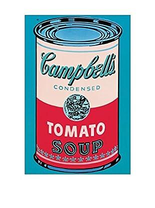 Artopweb Wandbild Warhol Campbell's Soup Can 1965 - 60x90 cm mehrfarbig