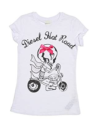 Diesel Kid T-Shirt Tabi Flash (Weiß)