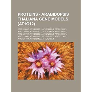 【クリックで詳細表示】Proteins - Arabidopsis Thaliana Gene Models (At1g12): At1g12000.1, At1g12010.1, At1g12020.1, At1g12030.1, At1g12040.1, At1g12050.1, At1g12060.1, At1g1 [ペーパーバック]