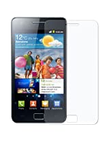 Amzer 94449 Super Clear Screen Protector with Cleaning Cloth for Samsung GALAXY S II GT-I9100