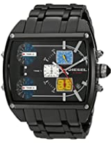 Diesel Tank Series Chronograph Black Dial Men's Watch - DZ7326