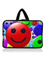 """Smile Ball 7"""" Tablet Sleeve Bag Cover Case Pouch with Handle for Samsung Galaxy Tab 2 Gt- P3100 P3110 / Nexus 7"""