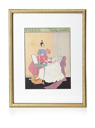 Original Vogue Cover from 1915 by Helen Dryden